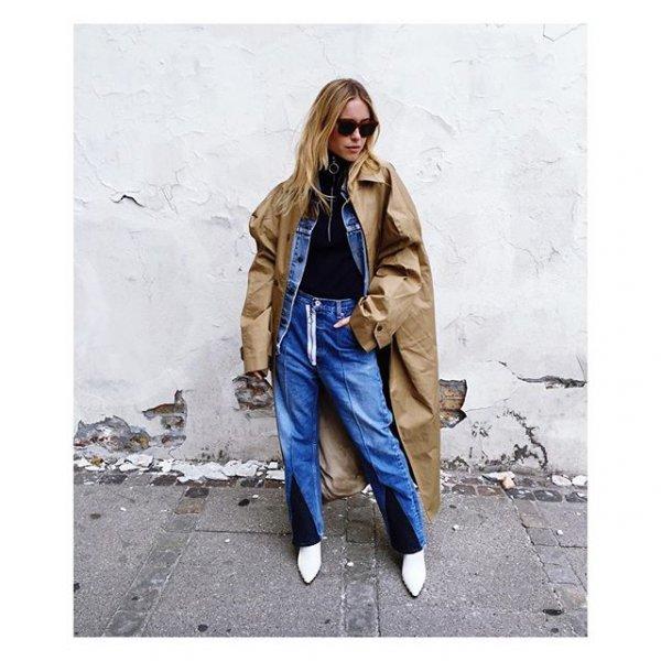 clothing, outerwear, coat, denim, sleeve,