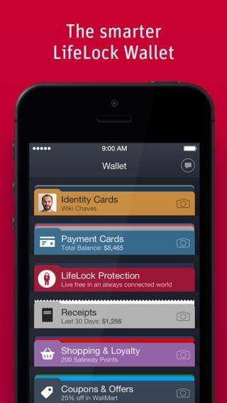 Lifelock Wallet