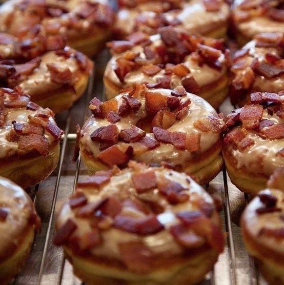 Maple-Bacon Donut