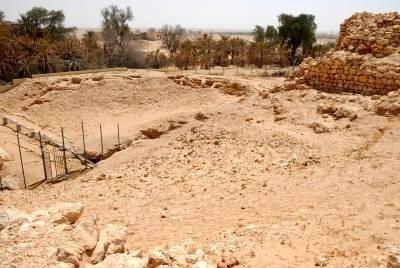 Iram of the Pillars in Saudi Arabia