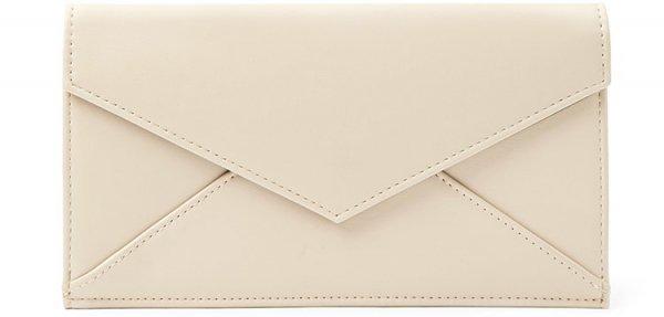 Faux Leather Envelope Wallet