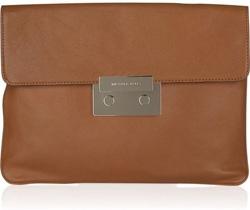 Michael Michael Kors Sloan Oversized Leather Clutch