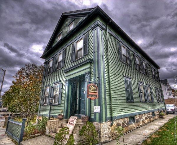 The Lizzie Bordon House, Fall River, Massachusetts