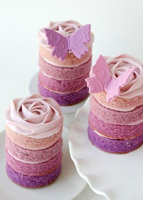 Tiny Layered Cakes