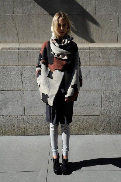 Boessert Schorn Wool Jacket Cape