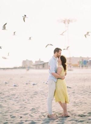 Guy + Girl + Gulls