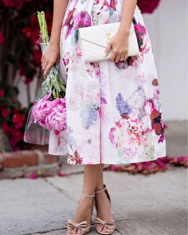 clothing, pink, dress, child, spring,