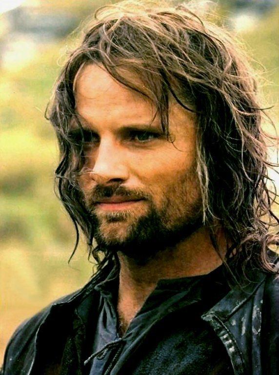 Viggo Mortensen Playing Aragorn
