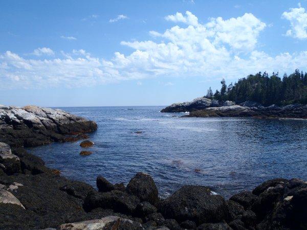 Isle Au Haut, Maine, USA