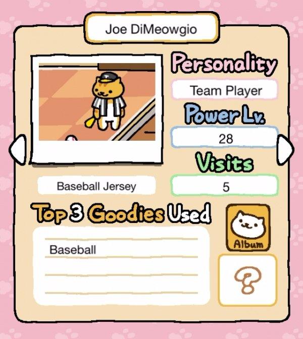 Joe DiMeowgio