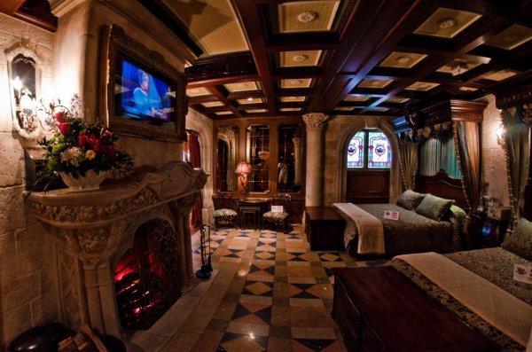 Cinderella Castle Suite at Walt Disney World, Orlando, Florida, USA