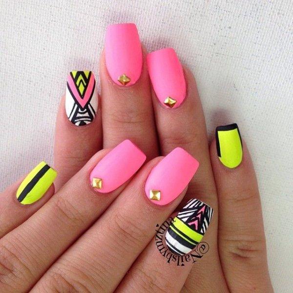 nail,finger,pink,nail care,yellow,