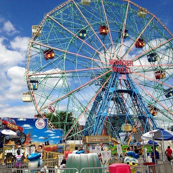 Coney Island in Brooklyn, New York, USA