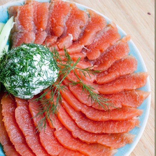 food, dish, fish, smoked salmon, cuisine,