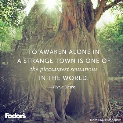 To Awaken Alone