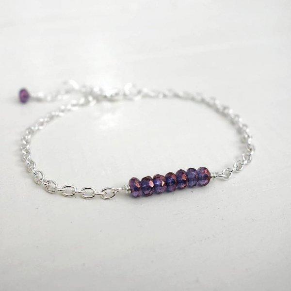 jewellery, fashion accessory, amethyst, purple, bracelet,