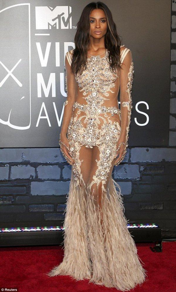 Ciara at the 2013 MTV Video Music Awards