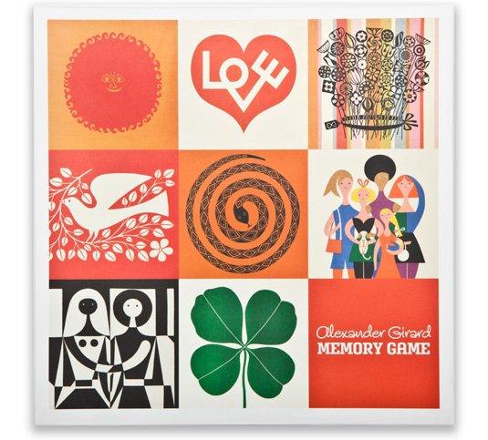 Alexander Girard Memory Game