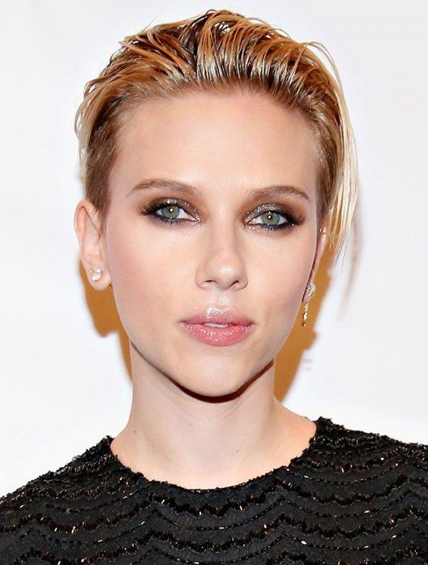 Scarlett's Short Hair