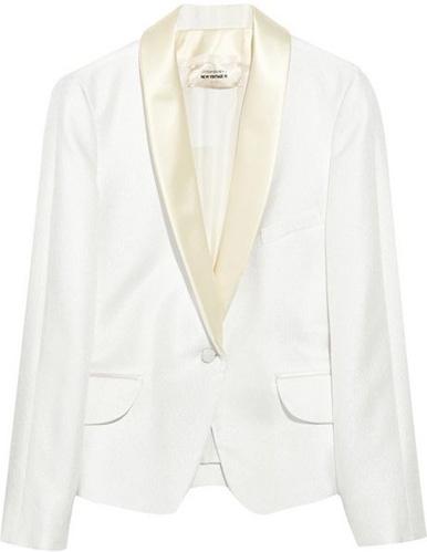 YSL Silk-Satin and Twill Tuxedo Jacket