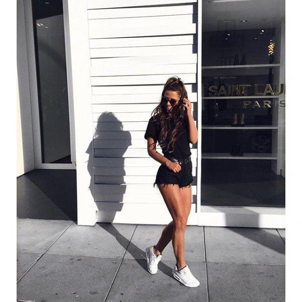 black, clothing, footwear, little black dress, dress,