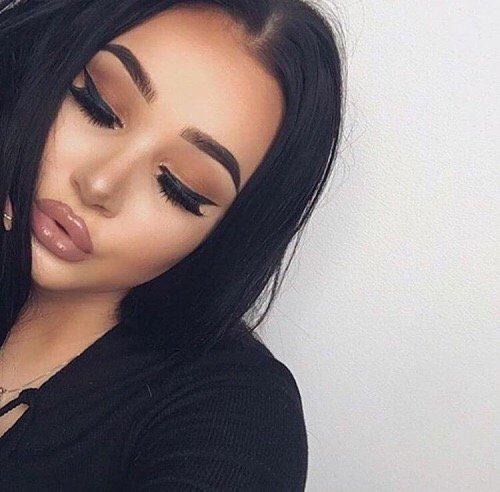 face, hair, eyebrow, nose, black,