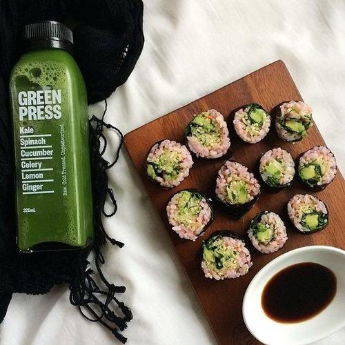 Enjoy a Green Juice for Breakfast