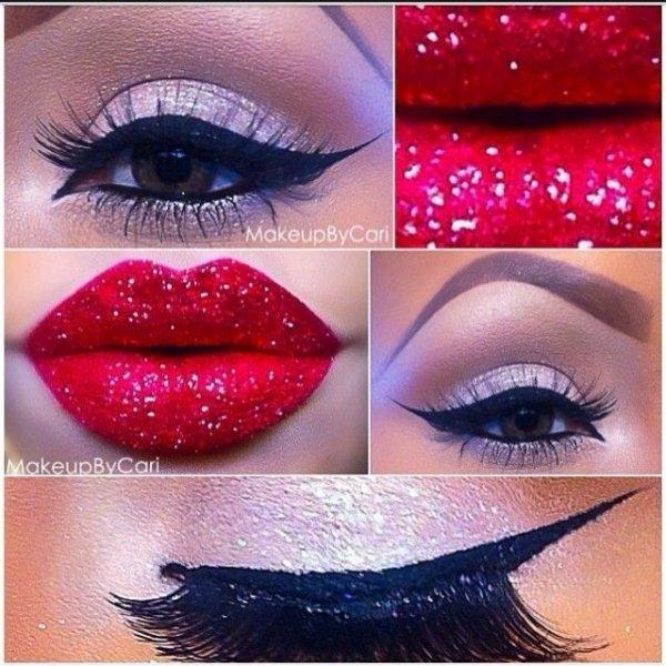 Glittering Lips