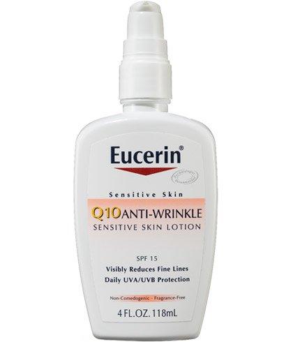 Eucerin Q10 anti-Wrinkle Sensitive Skin Lotion SPF 15