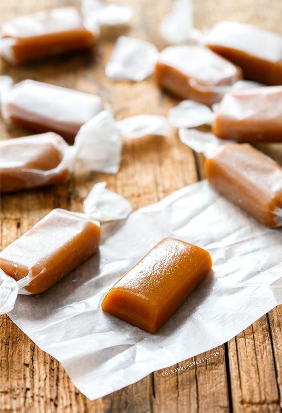 Molasses & Spice Gingerbread Caramels