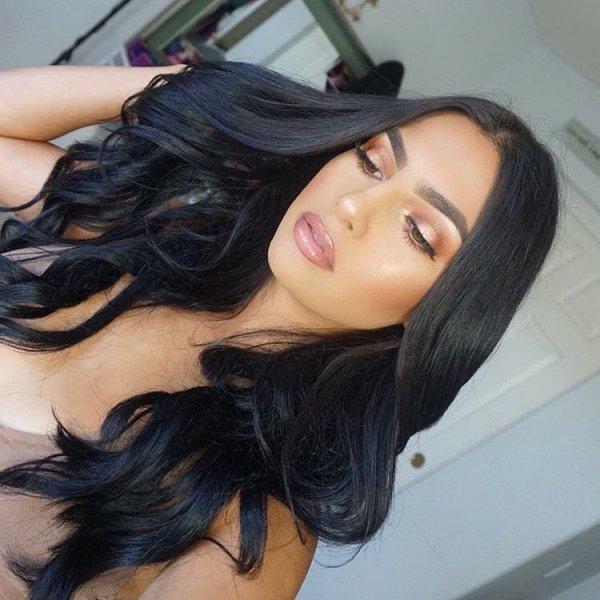hair, black hair, face, eyebrow, clothing,