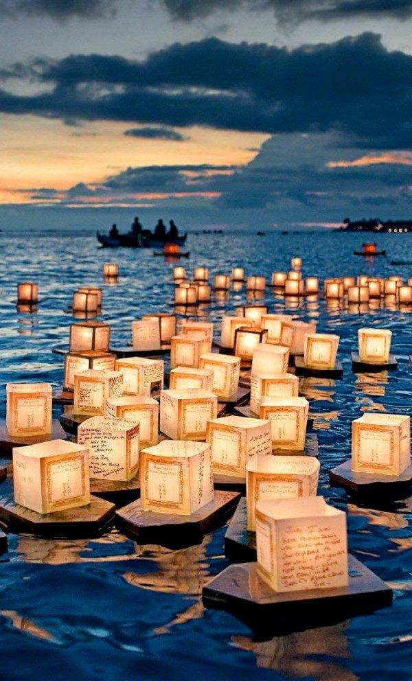 Floating Lantern Festival, Honolulu