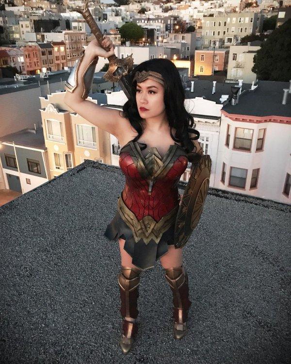 costume, girl, cosplay,