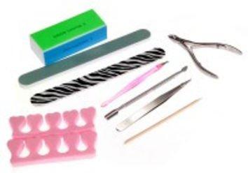 Set 8 Manicure Pedicure Nail Care Kit