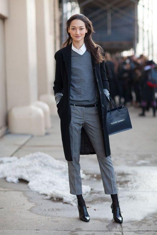 Menswear-inspired
