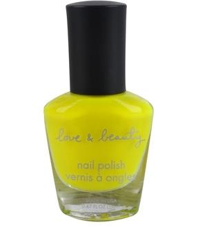 Forever21 Neon Yellow Nail Polish