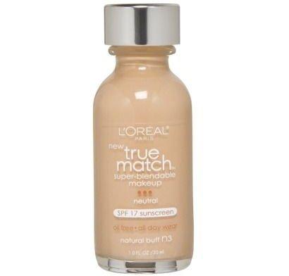 True Match Super-Blendable Makeup SPF 17