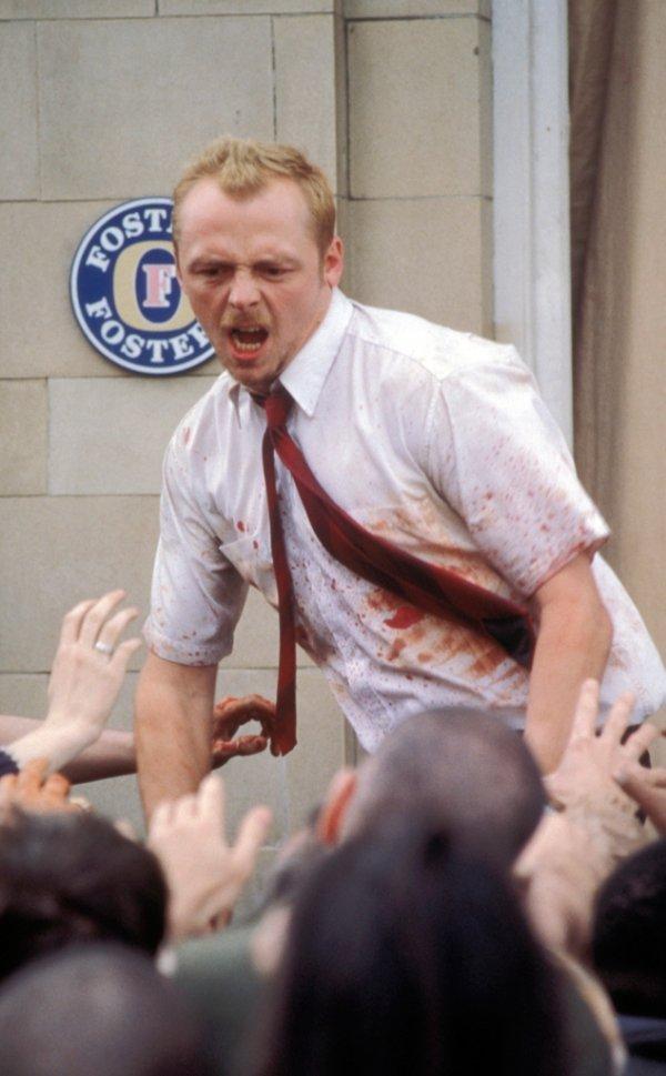 Simon Pegg Playing Shaun