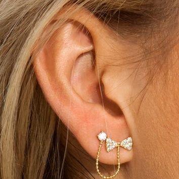 Triple Threat Earrings