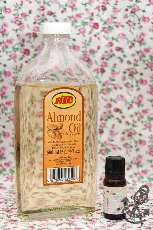 Almond Vanilla Body Oil