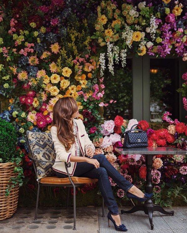 floristry, flower, painting, spring, floral design,