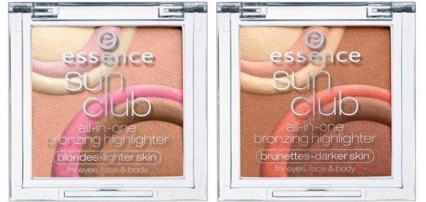 Essence Sun Club All-in-One Bronzing Highlighter