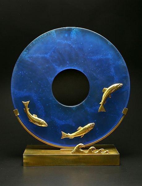 """""""Salmon Sculpture"""""""
