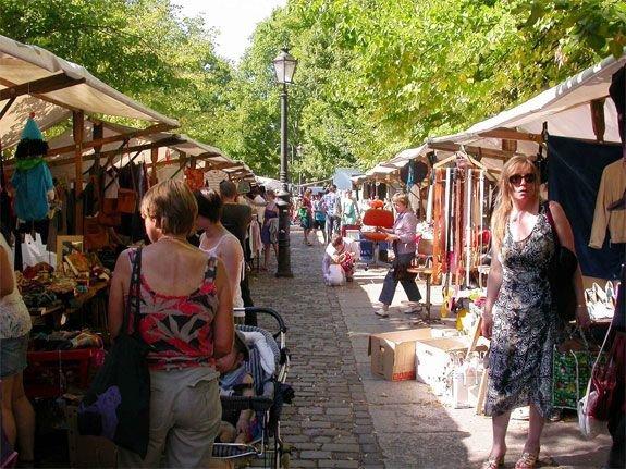 Shop for Bargains at Boxhagener Platz Flea Market