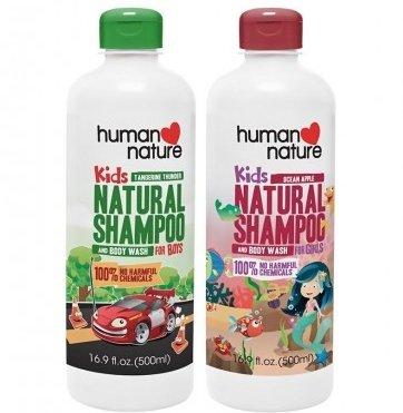 Human Nature Kids' Natural Shampoo and Body Wash