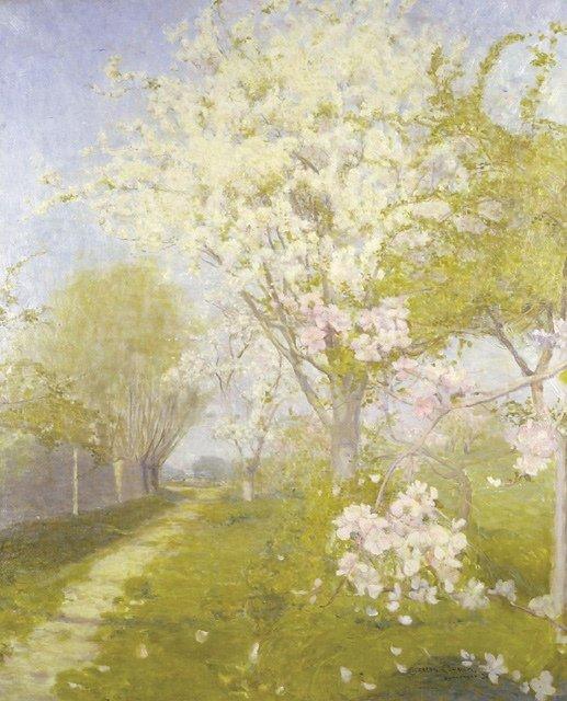 Blossom at Dennemont - Conder
