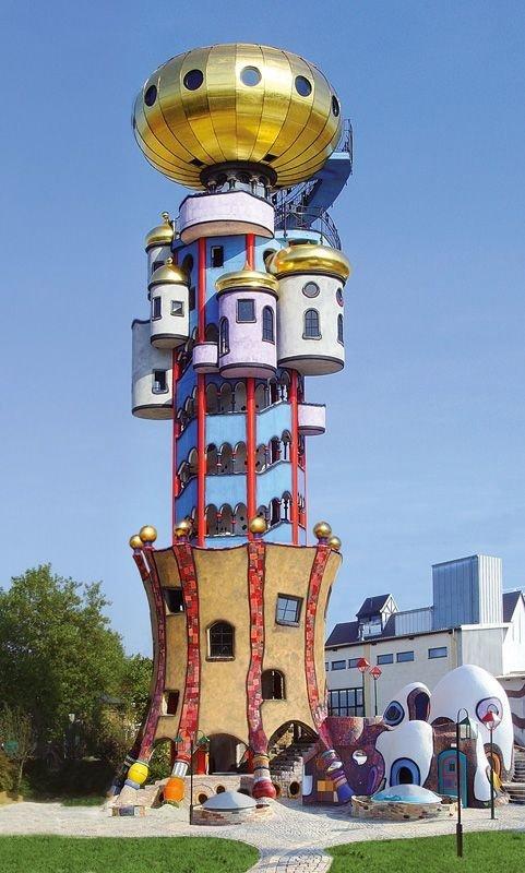 The Kuchlbauer Tower, ABENSBERG, Germany