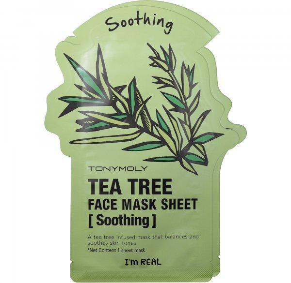 Tony Moly I'm Real - Tea Tree Face Mask Sheet