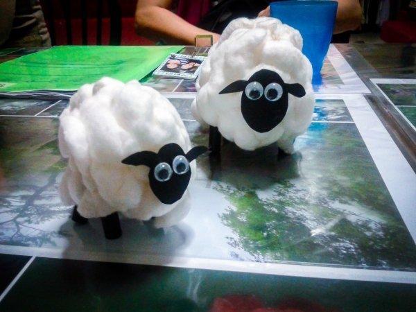 Cotton Ball Lamb