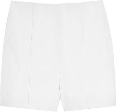 Diane Von Fursternberg Simca Stretch-Canvas Shorts